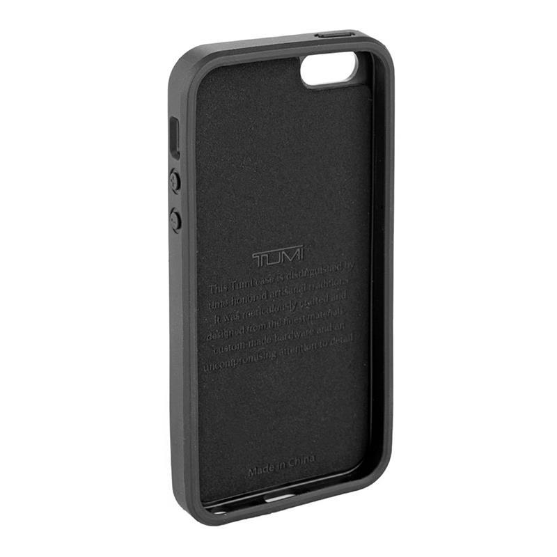 Incipio Tumi Coated Canvas Co-Mold Case - Etui iPhone SE / iPhone 5s / iPhone 5 (Black)