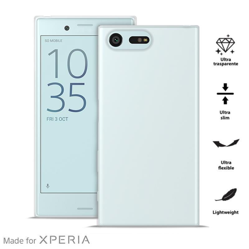 PURO 0.3 Nude MFX - Etui Sony Xperia X Compact (przezroczysty)