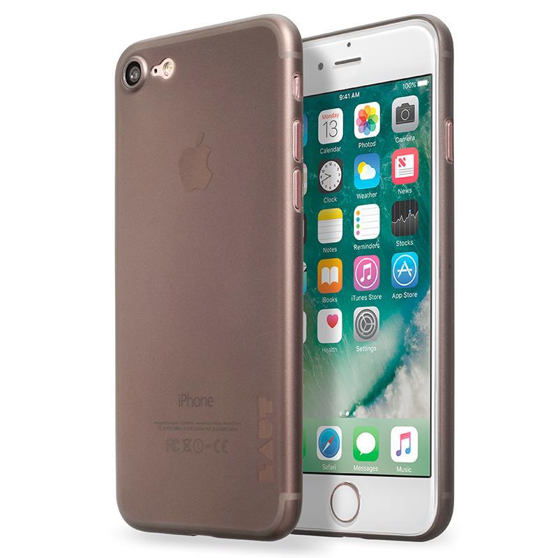 Laut SLIMSKIN - Etui iPhone 7 z 2 foliami na ekran w zestawie (przydymiony)