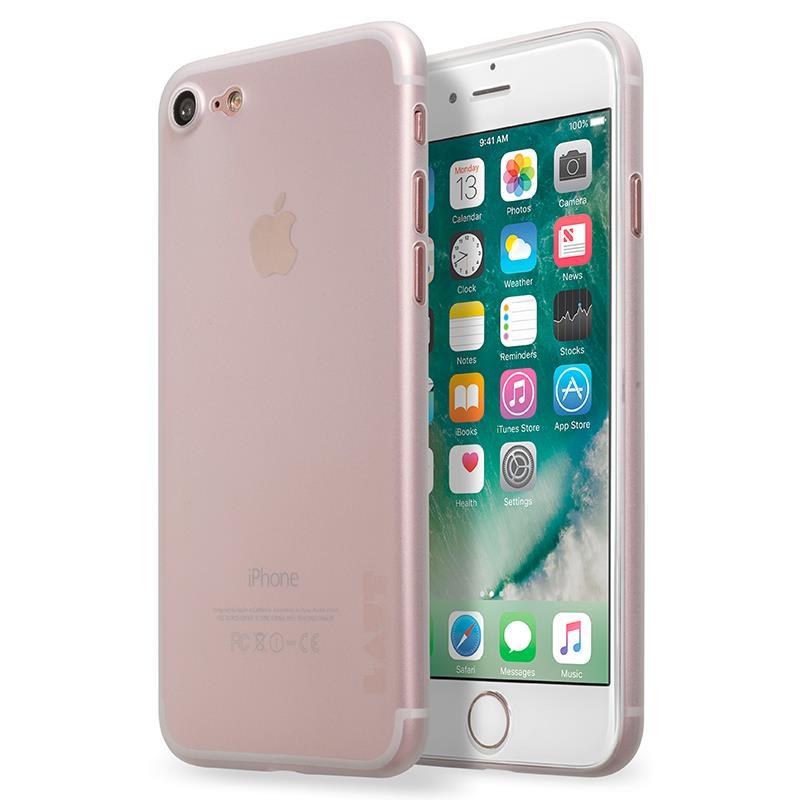 Laut SLIMSKIN - Etui iPhone 7 z 2 foliami na ekran w zestawie (przezroczysty)