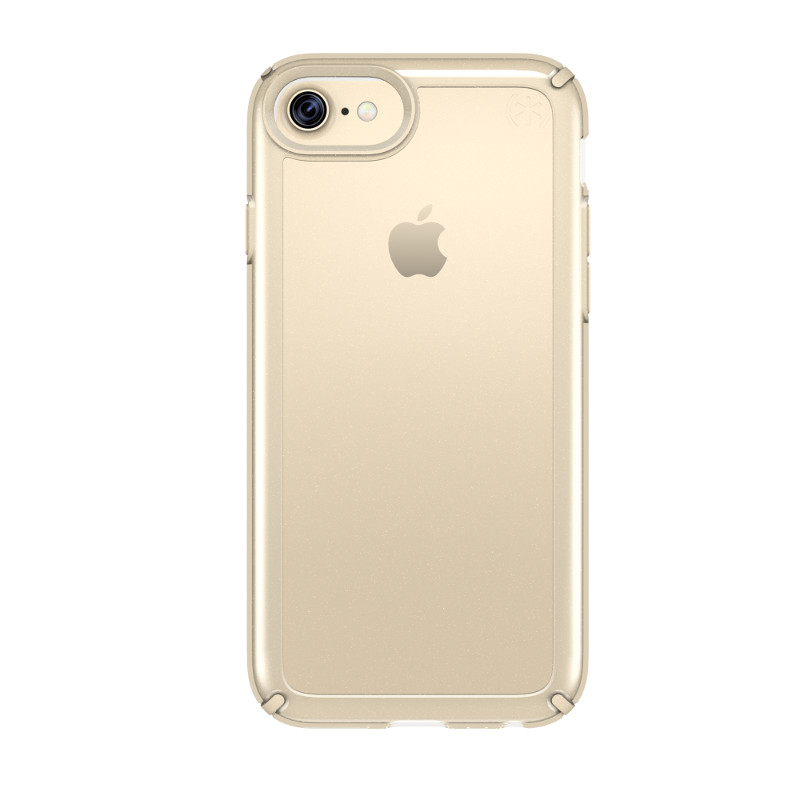 Speck Presidio Show - Etui iPhone 7 / iPhone 6s / iPhone 6 (Clear/Pale Yellow Gold)
