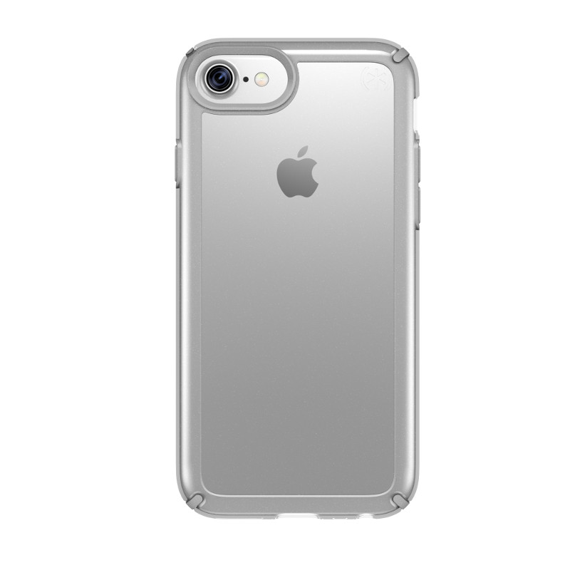 Speck Presidio Show - Etui iPhone 7 / iPhone 6s / iPhone 6 (Clear/Sterling Silver)