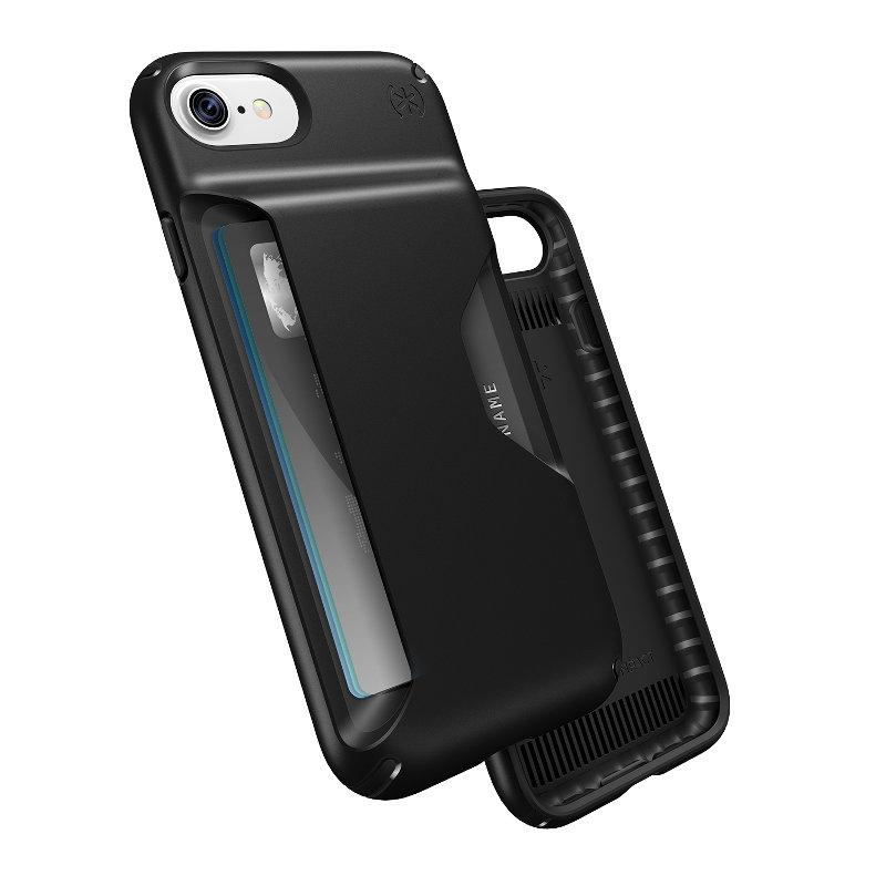 Speck Presidio Wallet - Etui iPhone 7 / iPhone 6s / iPhone 6 (Black/Black)