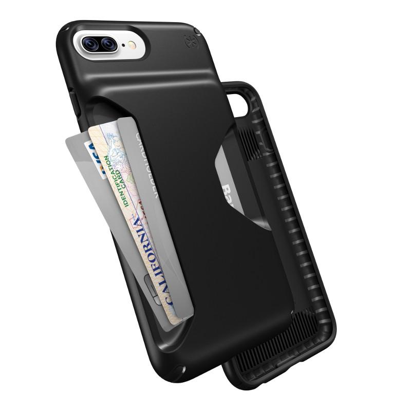 Speck Presidio Wallet - Etui iPhone 7 Plus / iPhone 6s Plus / iPhone 6 Plus (Black/Black)