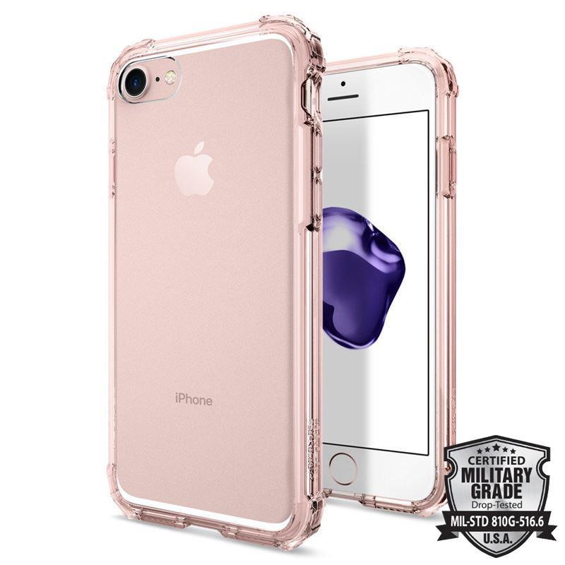 Spigen Crystal Shell - Etui iPhone 7 (Rose Crystal)