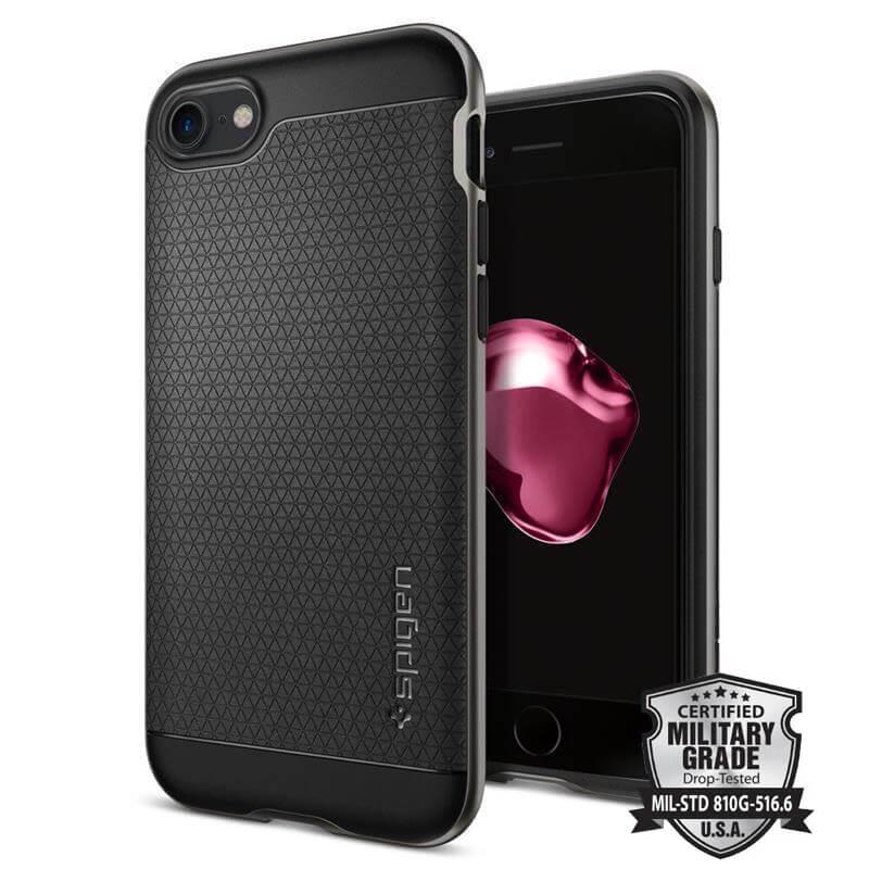 Spigen Neo Hybrid - Etui iPhone 7 (Gun Metal)