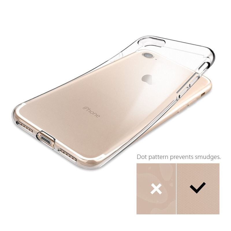 Spigen Liquid Crystal - Etui iPhone 7 (Crystal Clear)
