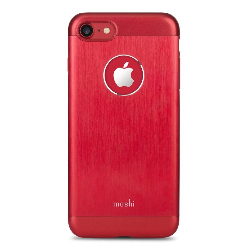 Moshi Armour - Etui aluminiowe iPhone 7 (Crimson Red)