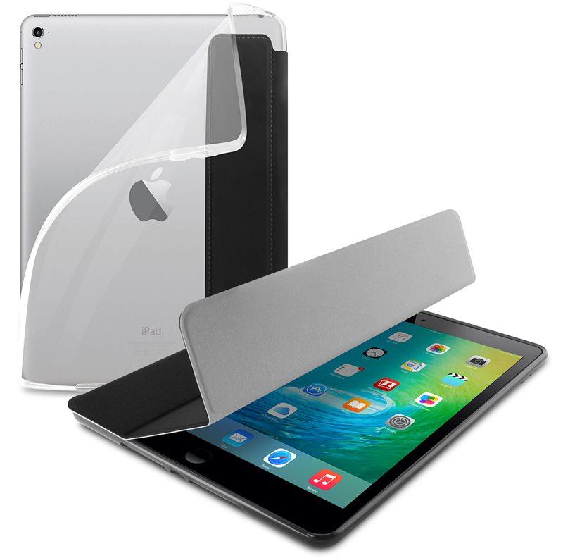 """PURO Zeta Slim Plasma - Etui iPad 9.7"""" (2017) w/Magnet & Stand up (czarny)"""