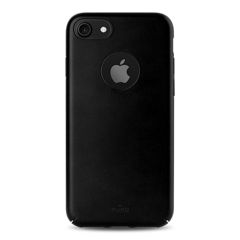PURO Magnetic Cover - Etui iPhone 7 kompatybilne z uchwytem magnetycznym (czarny)