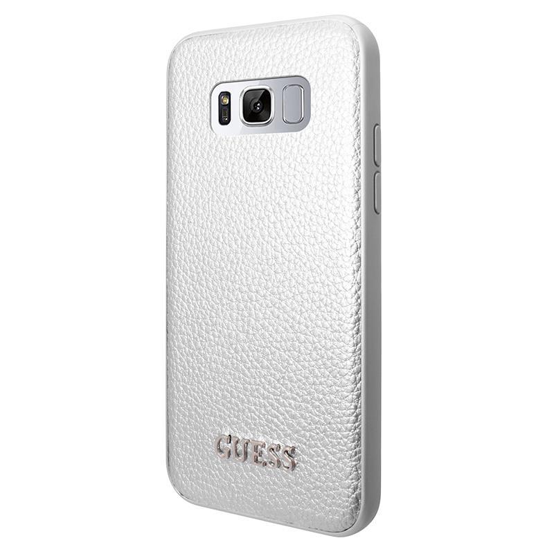 Guess Iridescent - Etui Samsung Galaxy S8 (srebrny)