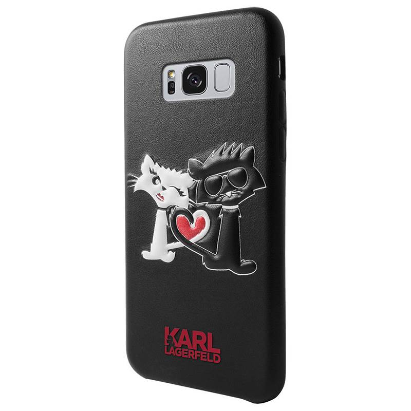 Karl Lagerfeld Choupette In Love Case - Etui Samsung Galaxy S8 (Black)