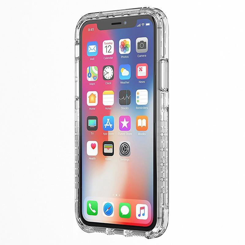 Griffin Survivor Strong - Etui iPhone X (przezroczysty)