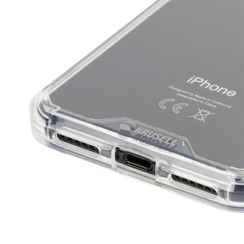 Krusell Kivik Pro Cover - Etui iPhone X (przezroczysty)