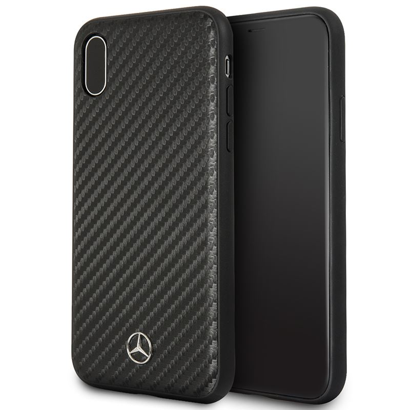 Mercedes Dynamic Line - Etui iPhone X (czarny)