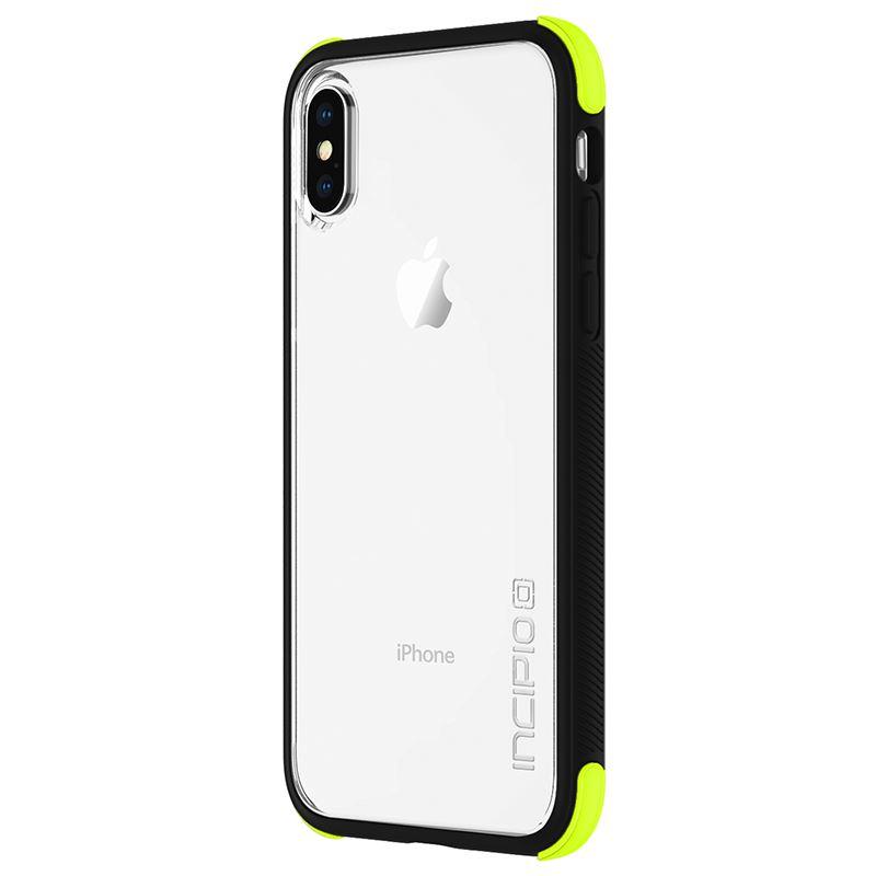 Incipio Reprieve SPORT - Etui iPhone X (Volt/Black/Clear)
