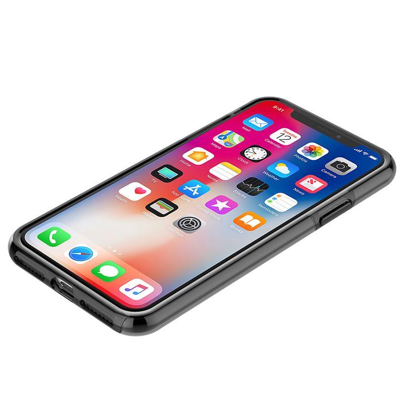 Incipio DualPro Pure - Etui iPhone X (ciemny przezroczysty)
