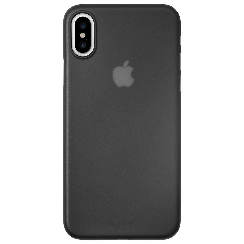 Laut SLIMSKIN - Etui iPhone X z 2 foliami na ekran w zestawie (Black)