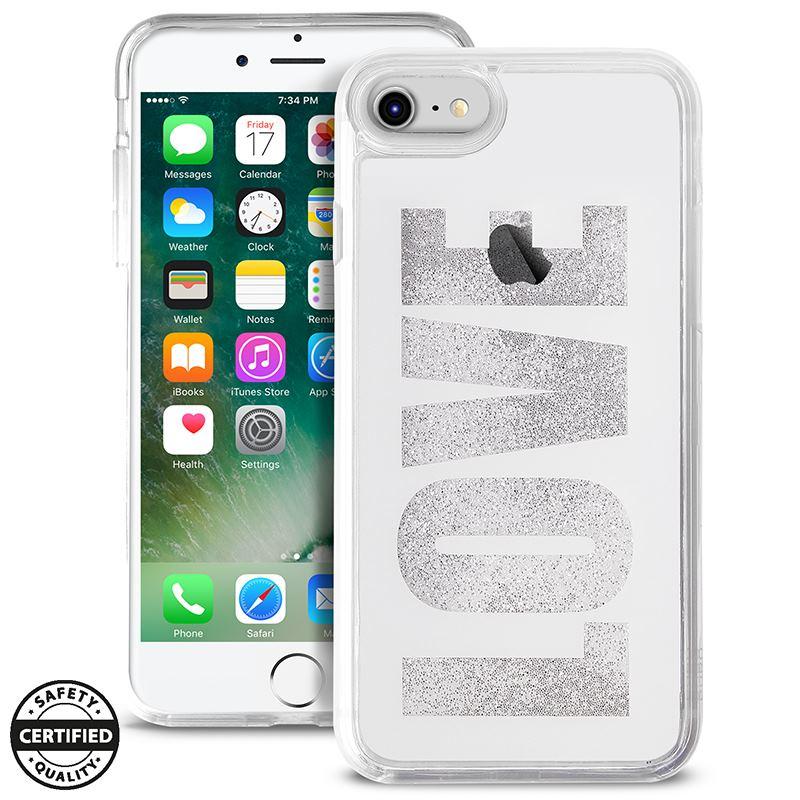 Puro Aqua Love - Etui iPhone 8 / 7 / 6s / 6 (White)