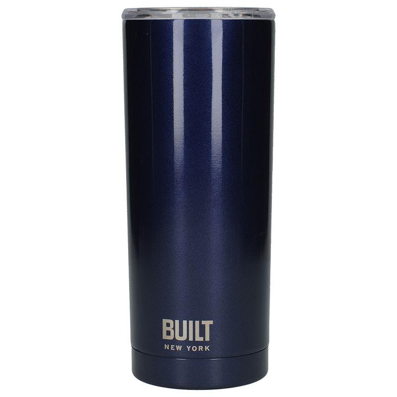 BUILT Vacuum Insulated Tumbler - Stalowy kubek termiczny z izolacją próżniową 0,6 l (Midnight Blue)