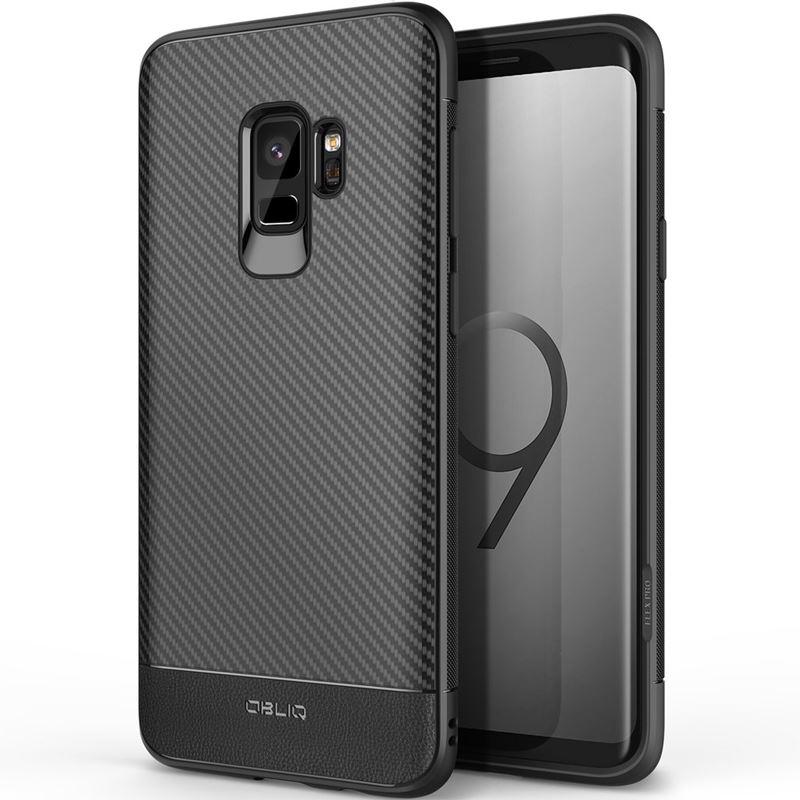 Obliq Flex Pro - Etui Samsung Galaxy S9 (Carbon Black)