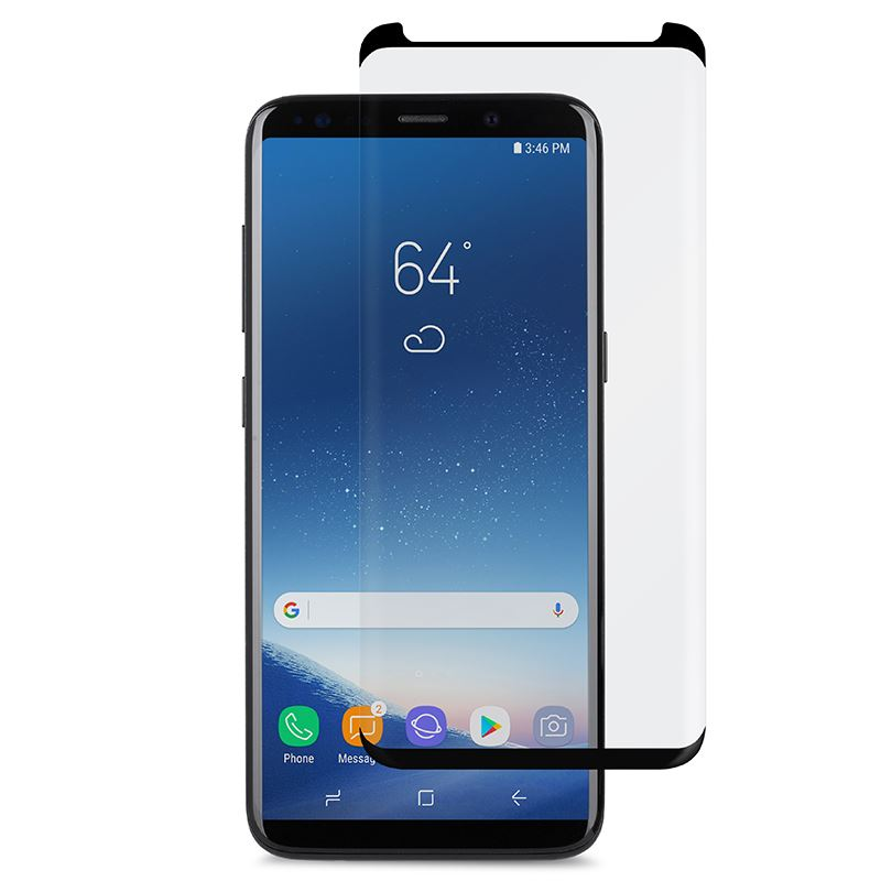 Moshi IonGlass - Szkło ochronne na ekran do Samsung Galaxy S9+ (Black)