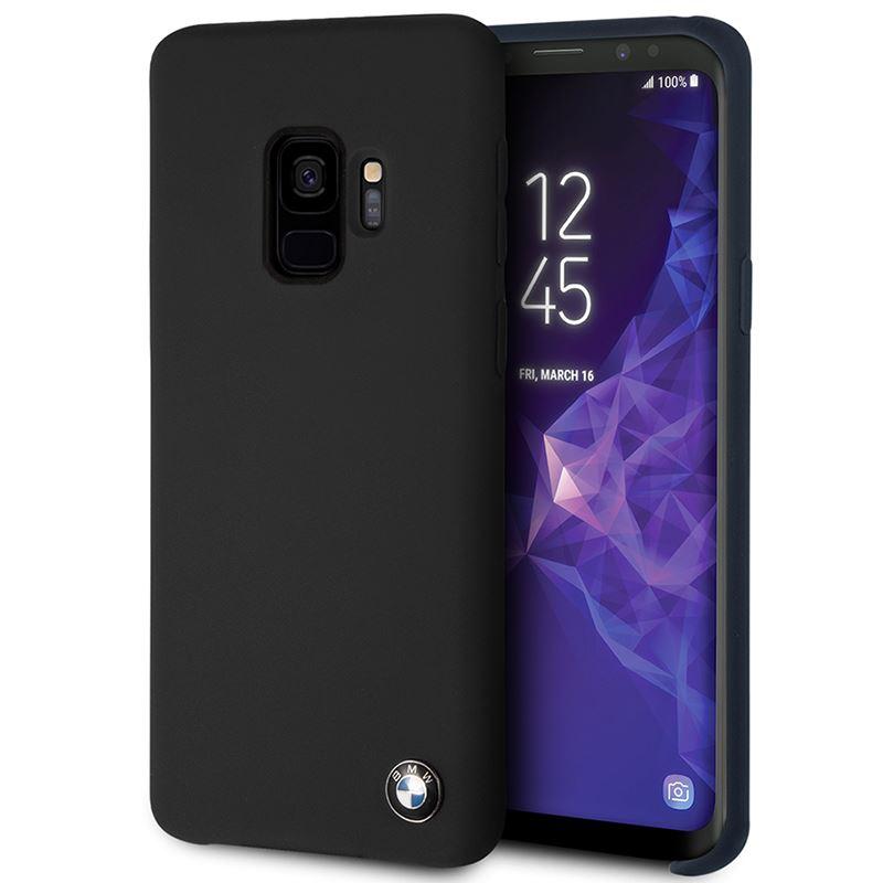 BMW Silicone Hard Case - Etui Samsung Galaxy S9 (czarny)
