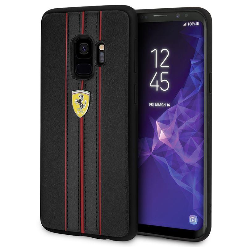 Ferrari Urban Hardcase - Etui Samsung Galaxy S9 (czarny)