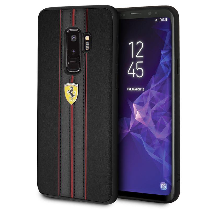 Ferrari Urban Hardcase - Etui Samsung Galaxy S9+ (czarny)