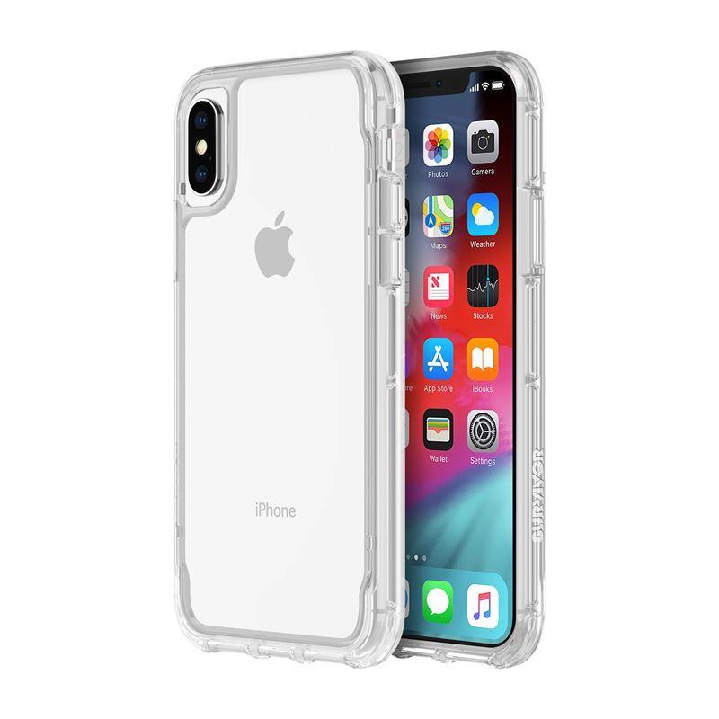 Griffin Survivor Clear - Etui iPhone Xs (przezroczysty)
