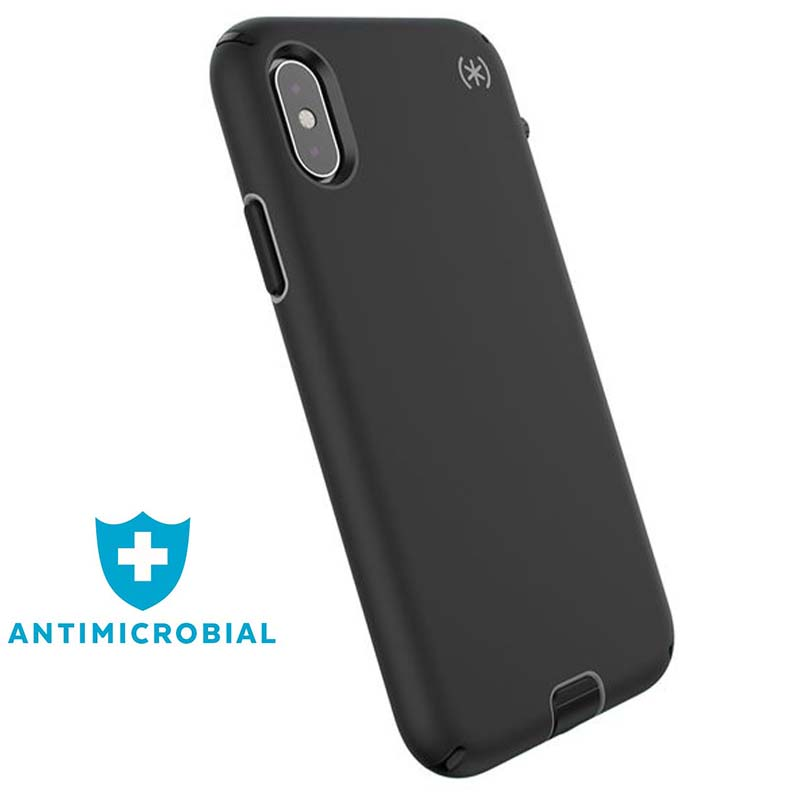 Speck Presidio Sport - Etui iPhone Xs / X (Black/Gunmetal Grey)