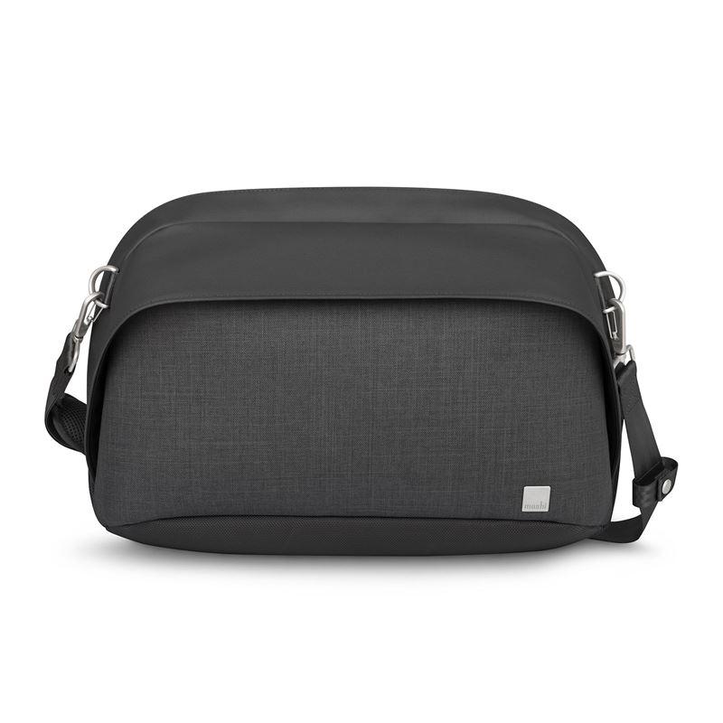 "Moshi Tego Sling Messenger – Torba antykradzieżowa MacBook Pro 13"" / iPad Pro 12,9"" (Charcoal Black)"
