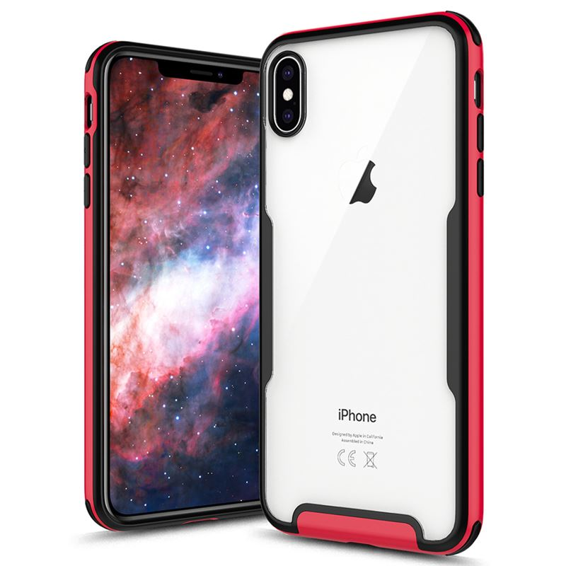Zizo Fuse Case - Etui iPhone Xs / X (Red/Black)