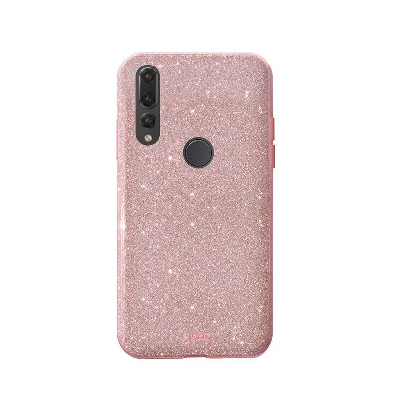 PURO Glitter Shine Cover - Etui Huawei P30 Lite (Rose Gold)