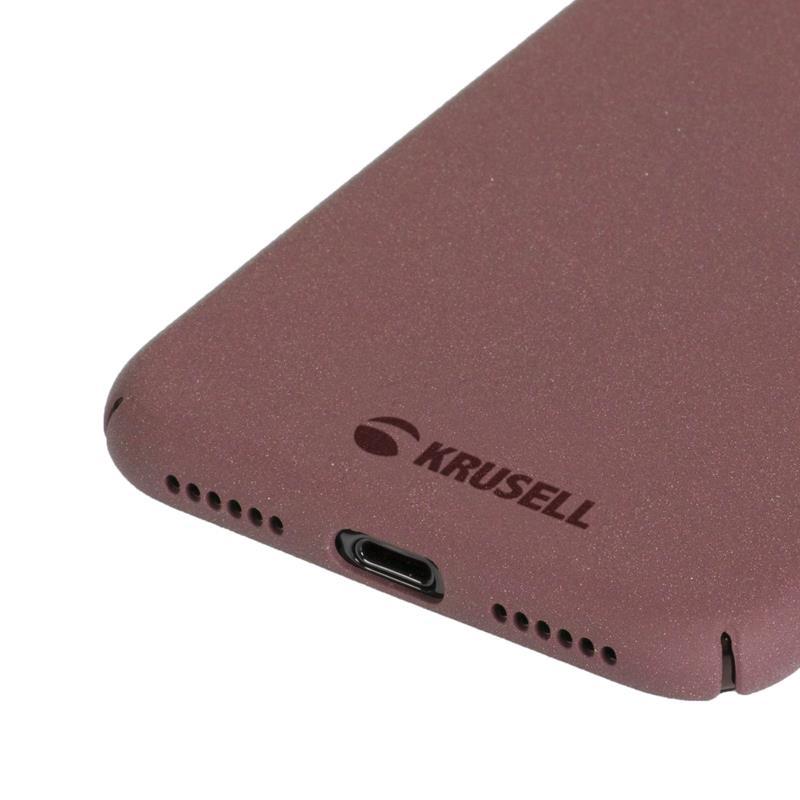 Krusell Sandby Cover - Etui iPhone X (Rust)