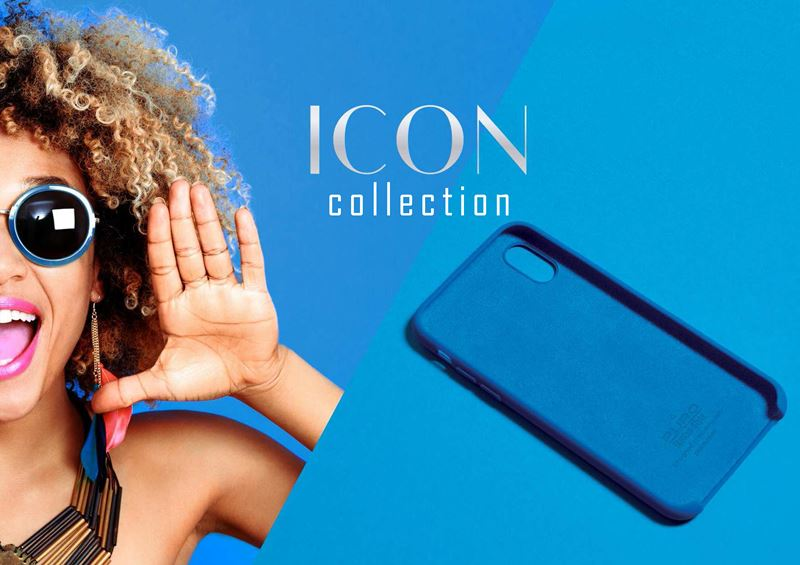 PURO ICON Cover - Etui iPhone X (czerwony) Limited edition