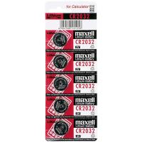 Maxell Lithium Battery CR2032 - Bateria pastylkowa 3 V (5 szt.)