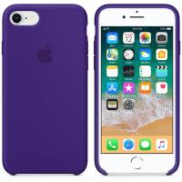 Apple Silicone Case - Silikonowe etui iPhone 8 / 7 (fiolet ultra)