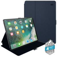 "Speck Balance Folio - Etui iPad 9.7"" (2018/2017) / iPad Pro 9.7"" / iPad Air 2 / iPad Air w/Magnet & Stand up (Eclipse Blue/Carbon Black)"