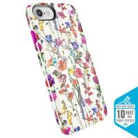 Speck Presidio Inked - Etui iPhone 8 / 7 / 6s / 6 (White Flowers/Lipstick Pink)